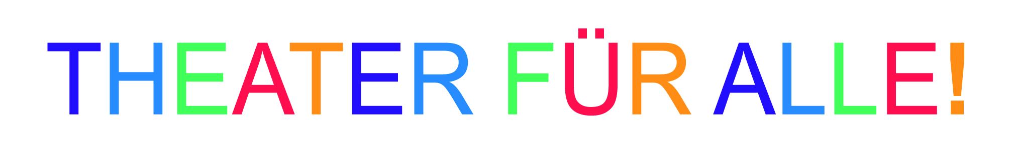Logo Theater für alle!