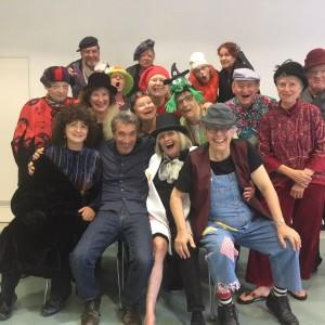 Gut gerüstet für die Bühnenarbeit mit Seniorinnen und Senioren
