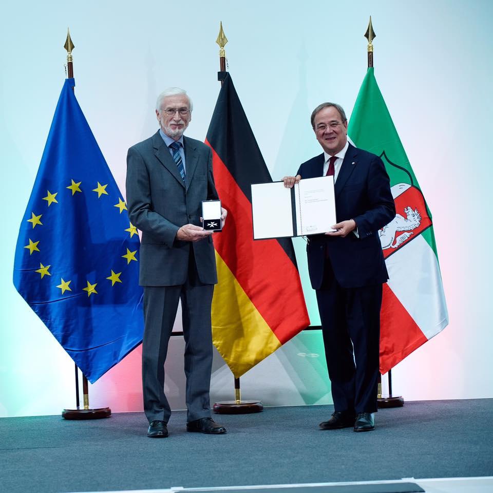 Heribert Knecht erhält Verdienstorden von Ministerpräsident Armin Laschet