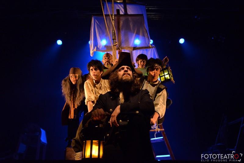 Theater-Szenenfoto, Mocha Dick, La Mona Illustre, Chile